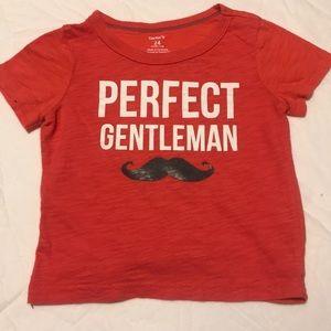 Carter's perfect gentleman shirt